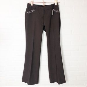 Body By Victoria The Christie Fit Brown Pants 2